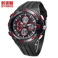 new product flashlight watch watch analog-digital time day date