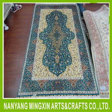 3x5ft hand knotted carpet importers of china hand-knotted turkish persian style for sale handmade oriental rug pure silk carpet