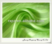 100% Polyester 50D Chiffon Yoryu Fabrics accordion pleats chiffon fabric