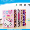 Cute hello kitty design leather case for ipad air 2