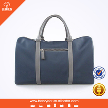 High Quality Nylon Fabric With Leather handle Man Travel Bags