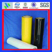 translucent color plastic stretch warp film
