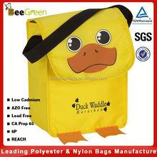 Cute 3-dimensional Animal designs kids lunch bag, lunch cooler bag