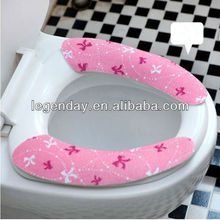Reusable Bathroom accessories custom silicone toilet seat covers