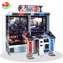 47inch screen arcade simulator Time Crisis 4 shooting game machine