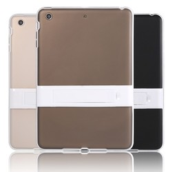 LETSVIEW Genuine Luxury Durable Super Slim Soft TPU Back Cover High Quality Protective Cases Housing for Ipad Mini 1/2/3