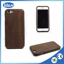 2016 New high quality wood phone case Wholesale Custom wood phone case for iPhone 6 plus 6s plus