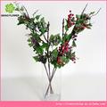 artificial que flowe 5 las ramas de uva con frutas para la decoración en la acción