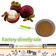 Natural GMP hot sale mangosteen rind extract polyphenols mangostin