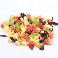 Organic dried Fruit and flower flavored tea ,natural Herbal Fruit Tea, Chinese Blended fruit tea