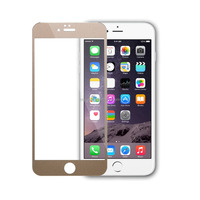 2015 full cover printed screen protector for iphone color tempered glass screen protector on alibaba