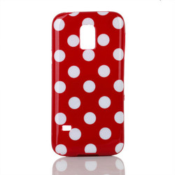 hot selling plastic colorful Polka Dot Paint phone case for samsung s5 mini