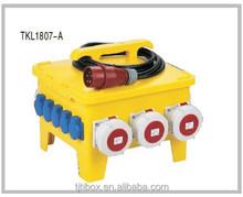 TIBOX 2015 New design 24 Mobile Waterproof Socket Box in china