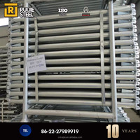 Metal Ladder Frame Scaffolding System For Building Support