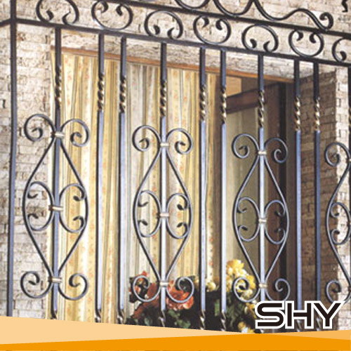 Modern wrought iron window grill design ornamental iron window grills design for home view - Window grills design pictures ...