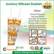 High-grade Acid Auto Glass Silicone Sealant,acetic silicone sealant(SGS,ROHS,REACH)