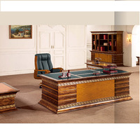 Classic Antique Wood Office Desk Furniture