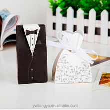 Paper Folding Bride&Groom Wedding Favour Party Candy Packing Box
