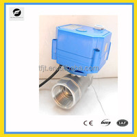 Electric Ball valve and Manual Brass 9-24V/AC/DC two way valve