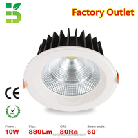 3 years warranty Citizen 10W COB LED downlight