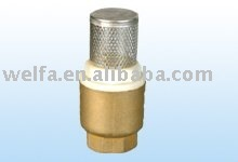 brass foot valve made in china