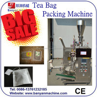 Automatic Filter Tea Bag Packing Machine withe inter and outer bags