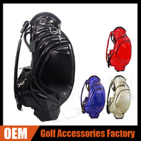Custom made Tour Staff Golf Bag colorful leather golf stand bags