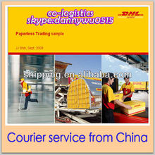 DHL courier service from Yiwu China to bangladesh Danny