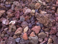 Chinese Lava stone volcanic ash CH-K-0055