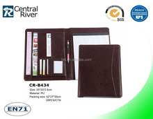 premium gifts luxury A5 portfolio art portfolio bags with binder from china factory