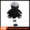 Customized personality Black Cute Bear Golf Driver Head covers