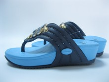 Vogue Lady Blue Flip Flop