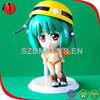 mini plastic toy animation figure plastic toy dolls