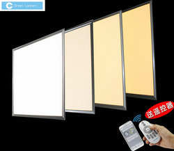 White and Aluminum Frame AC100-277v dimmalbe dlc led panel light 2x4 75w