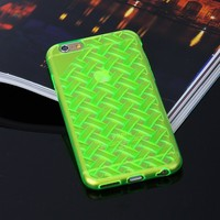 Silicone mobile case for iphone cover , for iphone 6 new fashion case cover
