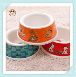 2015 Pet Supply Pet Bowl Dog Wholesale Plastic Bowls Dog Bowl