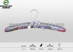 satin padded clothes hanger, multifunctional clothes hanger for drying clothes