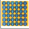 multi-size logo 3D hologram stickers with custom