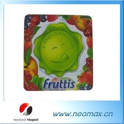 3D fruit custom pvc rubber fridge magnets
