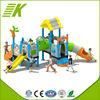 Kindergarten used amusement park equipment slide for sale