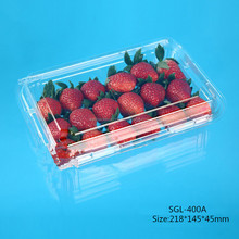 2015 new style clear PET rectangle lids to fit containers,protcet the dust