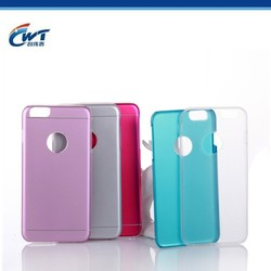 OEM aluminum tpu hybrid fancy mobile covers for iphone 6