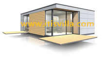 steel structure mobile container house as holiday home for a family