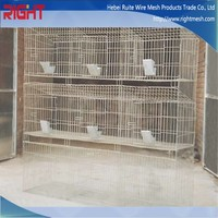 metal wire rabbit cage for sale