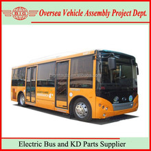 7.5m 39 Seats Plugging Charging Pure Electric City Bus with Best Price