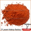 iron oxide type and inorganic pigment style iron oxide red Y101 and H101