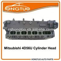 Spare Engine parts Pajero 4D56U Cylinder Head ,1005B453