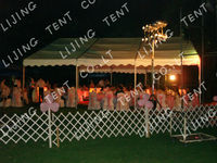 Economy is applicable the permanent PVC tent