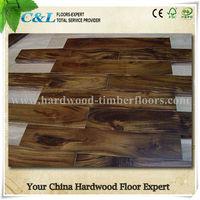 wood floor guangzhou hot sell acacia solid wood