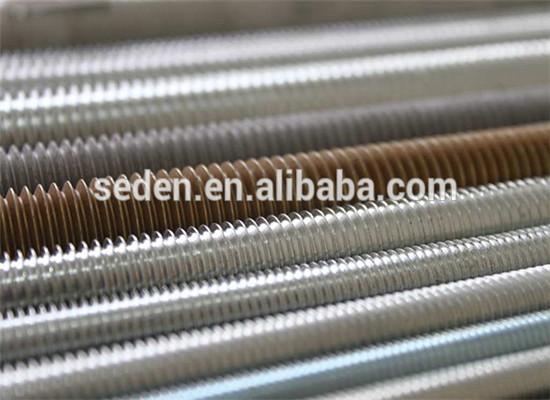Din thread stud hollow rod internally threaded